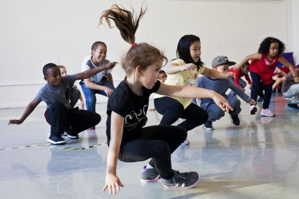 Workshop Kidsdance  Turnhout.